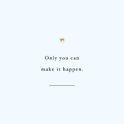 Only You | Exercise And Training Inspiration / @spotebi