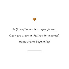 Self Confidence Is A Super Power | Exercise And Training Motivation / @spotebi
