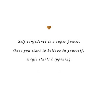 Self Confidence Is A Super Power   Exercise And Training Motivation / @spotebi