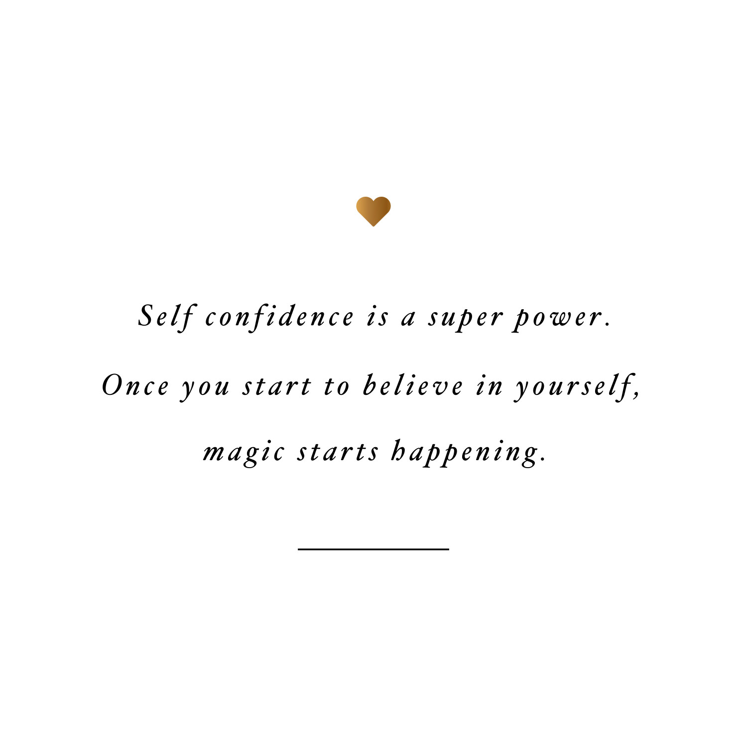 Self confidence is a super power! Browse our collection of inspirational health and fitness quotes and get instant exercise and training motivation. Transform positive thoughts into positive actions and get fit, healthy and happy! https://www.spotebi.com/workout-motivation/self-confidence-is-a-super-power-exercise-and-training-motivation/