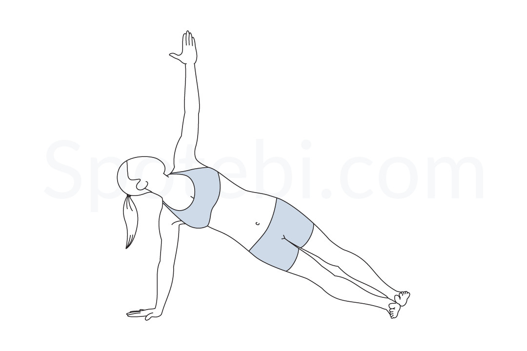 Side Plank Pose Vasisthasana