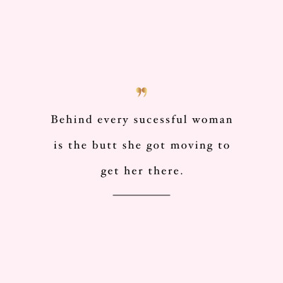 Move Your Butt   Exercise And Fitness Inspiration Quote / @spotebi