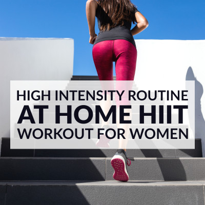 At Home High Intensity Routine / @spotebi