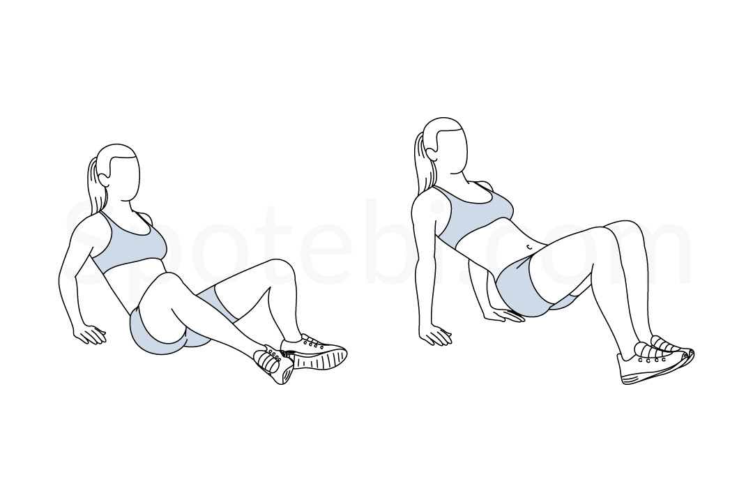 Butterfly Dips | Illustrated Exercise Guide