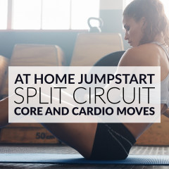 Core And Cardio Split Workout / @spotebi