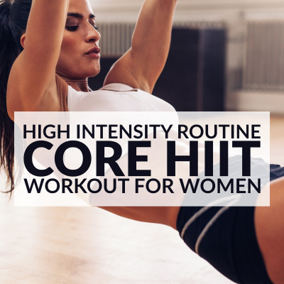 High Intensity Core Workout / @spotebi