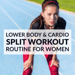 Lower Body And Cardio Split Workout / @spotebi