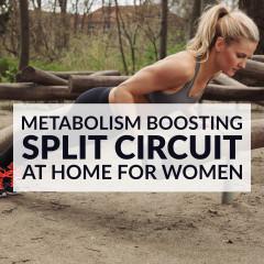 Upper Body And Cardio Split Workout / @spotebi