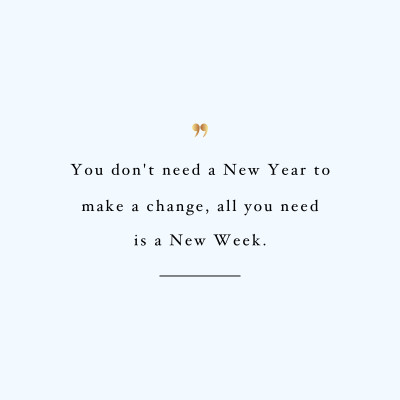 Make A Change | Training And Weight Loss Quote / @spotebi