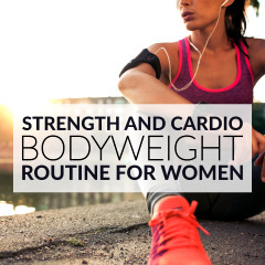 Strength And Cardio Bodyweight Routine / @spotebi