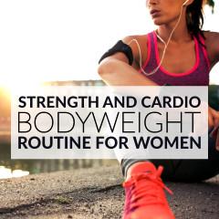 Strength And Cardio Bodyweight Routine / @spotebi
