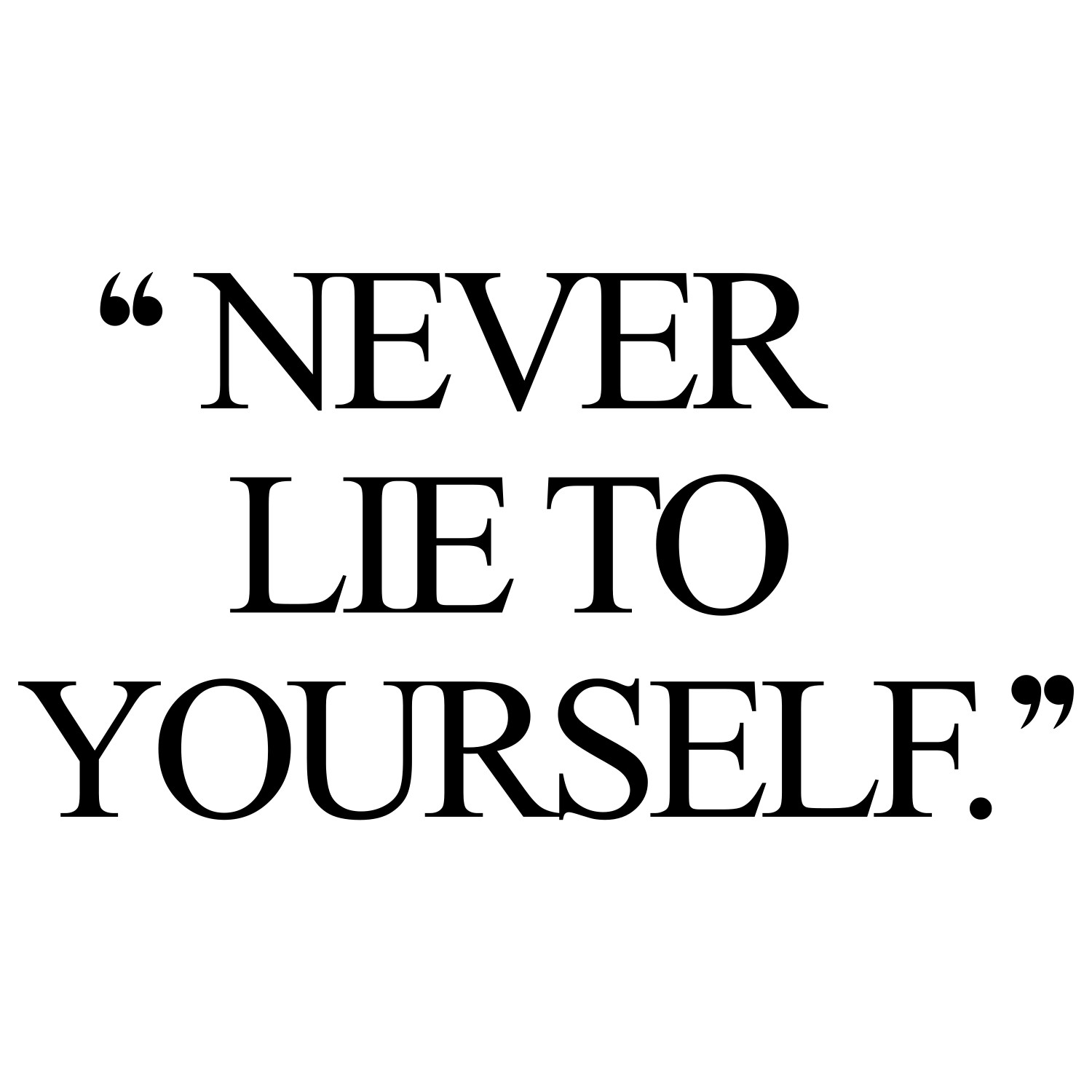 Never lie to yourself! Browse our collection of motivational exercise and fitness quotes and get instant healthy lifestyle inspiration. Stay focused and get fit, healthy and happy! https://www.spotebi.com/workout-motivation/never-lie-to-yourself/