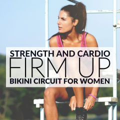 Strength And Cardio Upper Body Workout / @spotebi