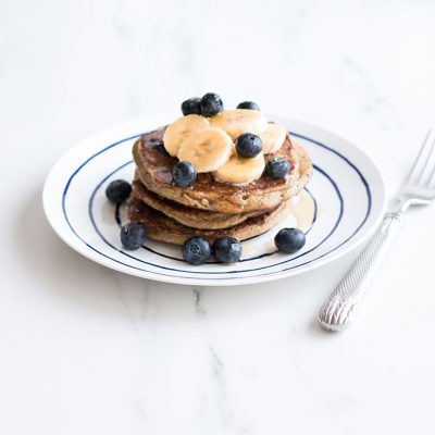 Blueberry Banana Pancakes / @spotebi