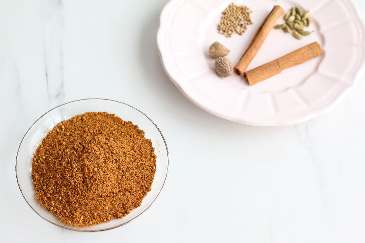 Homemade Moroccan spice mix recipe: Great for couscous, tagine and for seasoning meat! https://www.spotebi.com/recipes/moroccan-spice-mix-recipe/