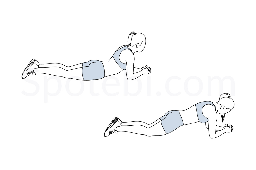 Abdominal bridge exercise guide with instructions, demonstration, calories burned and muscles worked. Learn proper form, discover all health benefits and choose a workout. https://www.spotebi.com/exercise-guide/abdominal-bridge/