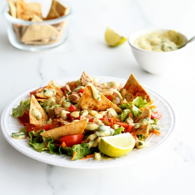 Chickpea Nachos Recipe / @spotebi
