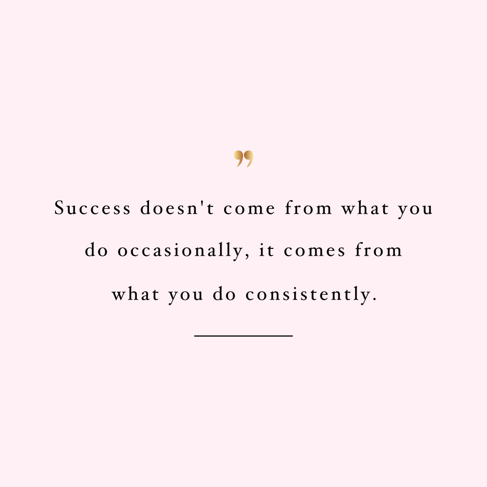 Consistency is the key! Browse our collection of inspirational fitness and healthy lifestyle quotes and get instant self-love and wellness motivation. Stay focused and get fit, healthy and happy! https://www.spotebi.com/workout-motivation/consistency-is-the-key/