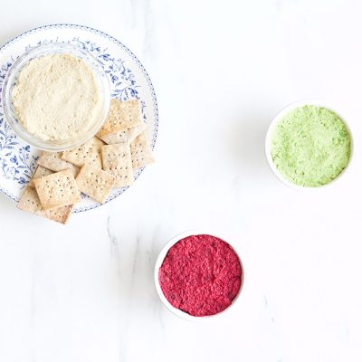 Healthy Hummus 3 Ways / @spotebi