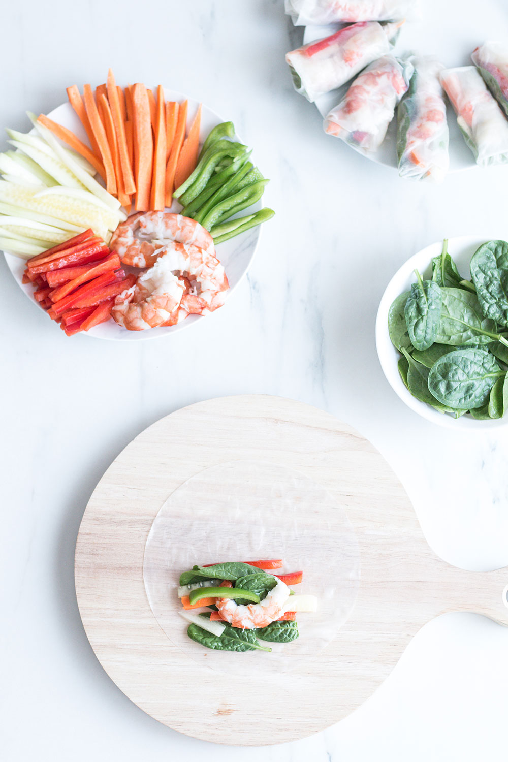 Shrimp Summer Rolls Recipe: Low fat and calorie content, perfect to help you shed excess weight and leave you feeling full for longer! https://www.spotebi.com/recipes/shrimp-summer-rolls/