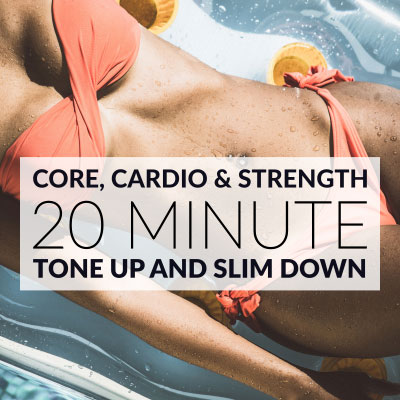 20 Minute Workout | Core, Cardio & Strength / @spotebi
