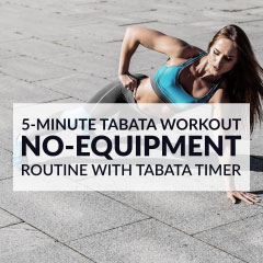 5 Must-Try Tabata Exercises to Get Started / @spotebi