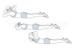 Superman Twist Exercise Guide / @spotebi