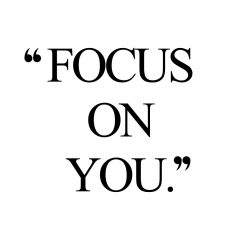 Focus On You | Training And Healthy Eating Motivation / @spotebi