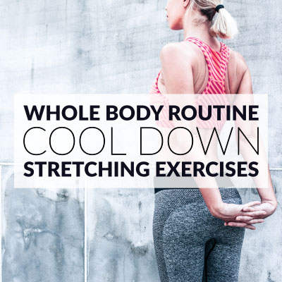 At Home Full Body Cool Down Routine / @spotebi