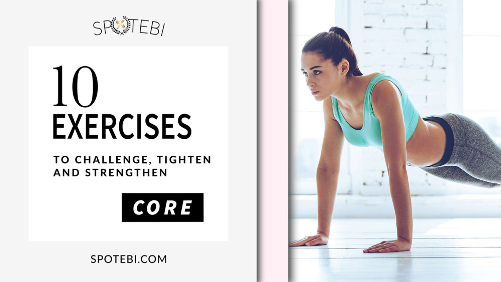 CORE WORKOUT For Women: Best Exercises to Challenge, Tighten & Strengthen Your Core!