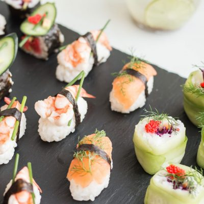 Easy Homemade Sushi: Nigiri and Maki Rolls Recipes / @spotebi