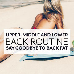 Sexy BACK WORKOUT for Women! Upper, Middle, and Lower Back Exercises to Say Goodbye to Back Fat! / @spotebi