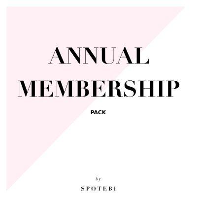 Annual Membership Pack / @spotebi