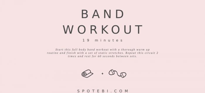 19-Minute At-Home Band Workout