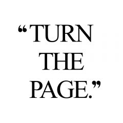 Turn The Page | Fitness And Wellness Quote / @spotebi
