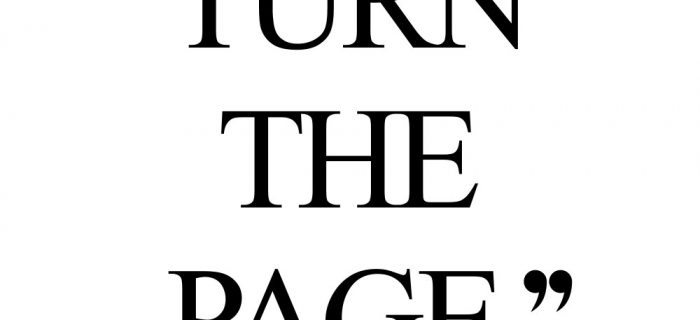 Turn The Page | Fitness And Wellness Quote