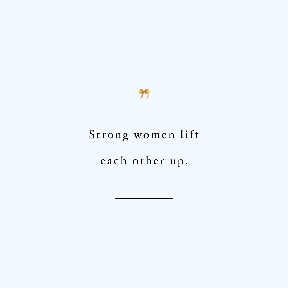 Lift each other up! Browse our collection of motivational self-love and healthy lifestyle quotes and get instant fitness and wellness inspiration. Stay focused and get fit, healthy and happy! https://www.spotebi.com/workout-motivation/lift-each-other-up/