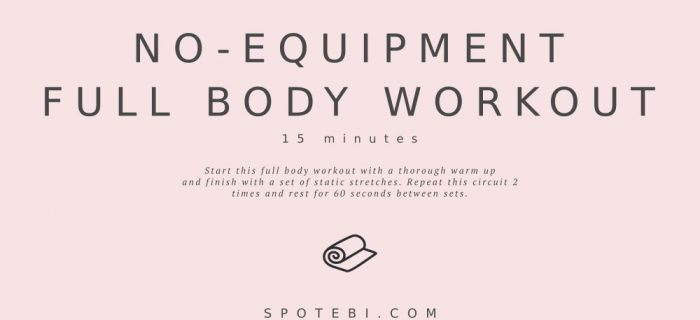 No-Equipment Full Body Workout