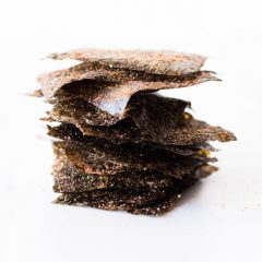 Crisp Nori Chips Recipe / @spotebi