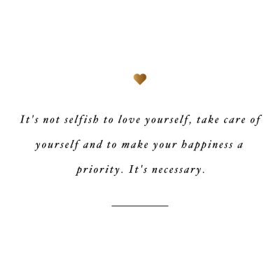 Loving Yourself Is Necessary | Self-Love And Healthy Lifestyle Motivation / @spotebi