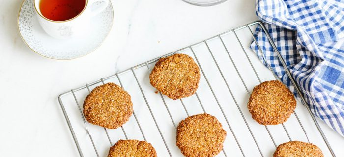 Crispy Crunchy Melt-in-Your-Mouth Coconut Almond Cookies