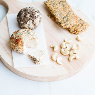 Easy Probiotic Cashew Cheese Recipe / @spotebi