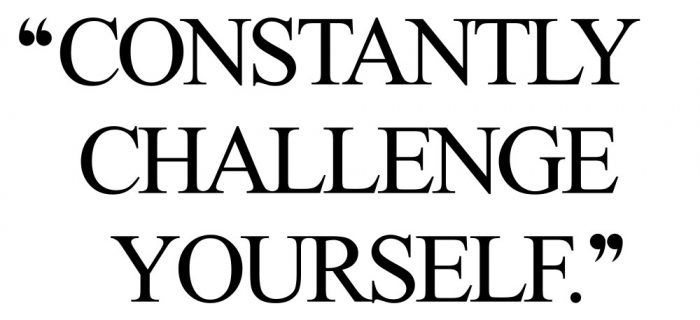 Challenge Yourself | Motivational Training And Healthy Eating Quote