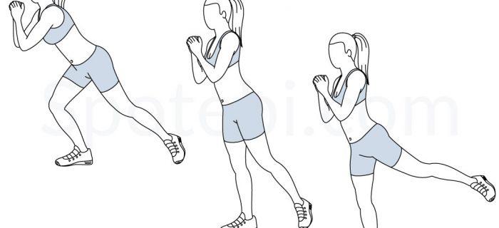Single Leg Squat Kickback | Illustrated Exercise Guide