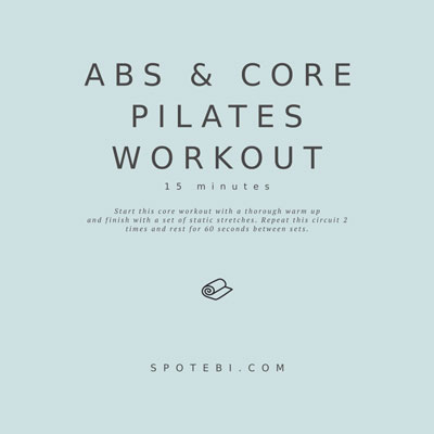 Abs & Core Pilates Workout | Workout Videos