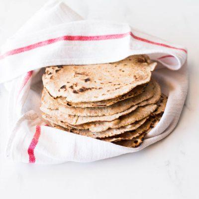 Easy 6-Ingredient Spelt Tortillas