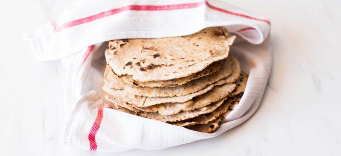 Easy 6-Ingredient Spelt Tortillas Recipe