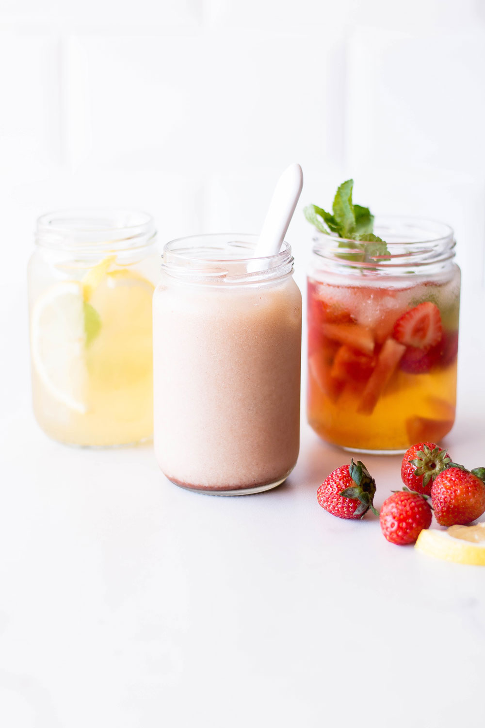 Try one of these refreshing, cold brewed teas to cool off during the hot summer months! Cleanse the body with the lemon-ginger iced tea, increase your daily antioxidant intake with the fruity infusion and get energized with the Thai blend! https://www.spotebi.com/recipes/cold-brewed-summer-teas/
