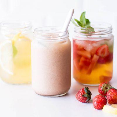 Cold Brewed Summer Tea Recipes: Lemon-Ginger, Fruity & Thai / @spotebi