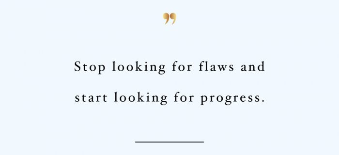 Look For Progress | Health And Wellness Inspiration Quote